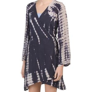 RAVIYA Swim Cover up Tie Dye